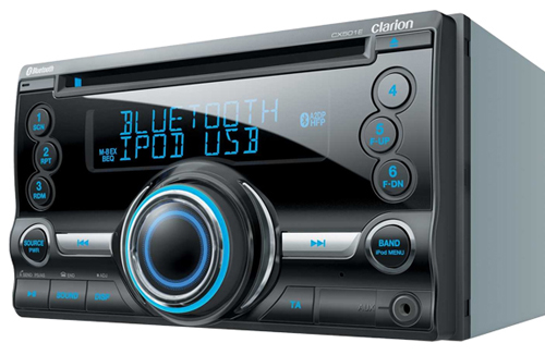 autoradio 18 stations fm clarion cx501e subwoofer port usb. Black Bedroom Furniture Sets. Home Design Ideas